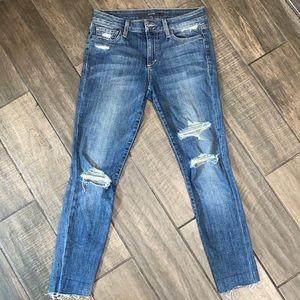 Joe's Jeans Distressed Skinny Size 27